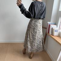 ✳︎予約販売✳︎animal flare skirt/2colors_ns0018
