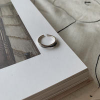 ✳︎予約販売✳︎silver925 cross thin ring_na0079