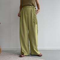《予約販売》strap wide summer pants/2colors_np0429