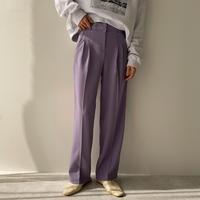 《予約販売》s/s two tuck wide pants/2colors_np0357