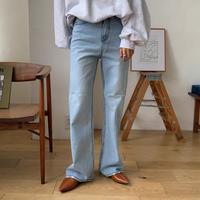 《予約販売》flare long jeans_np0284