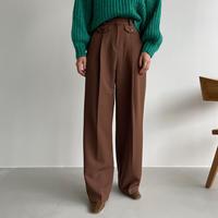 《予約販売》pocket wide pants/2colors_np0481