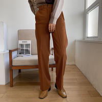 《予約販売》relaxy terracotta pants_np0316