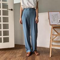 《予約販売》two tuck summer pants/2colors_np0217