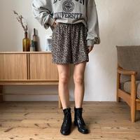 《予約販売》leopard short pants/2colors_np0266