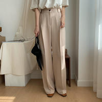《予約販売》wide fit pants/2colors_np0152