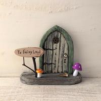 五芒星のキノコの扉