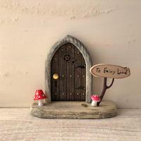 ノームのキノコの扉