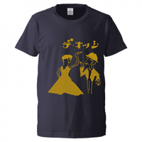 デ・オッシ 10周年Tシャツ (ネイビー) Mサイズのみ
