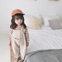 子供服 コーデュロイ オーバーオール