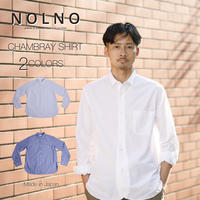 CHAMBRAY SHIRT c/#WHITE [NOL201401]