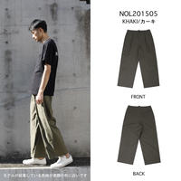 TYPEWRITER 1TUCK PANTS c/#KHAKI [NOL201505]