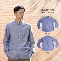 CHAMBRAY SHIRT c/#NAVY [NOL201401]