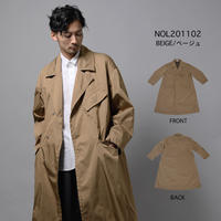 DOUBLE CLOTH DISPATCH COAT c/#BEIGE [NOL201102]