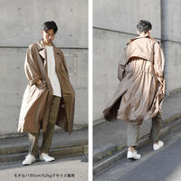 TAFFETA DISPATCH COAT c/#BEIGE [NOL201101]