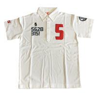 【予約販売】野村タケオデザイン562Bポロシャツ2018モデル ホワイト