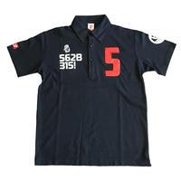 【予約販売】野村タケオデザイン562Bポロシャツ2018モデル ネイビー