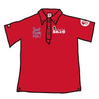 【新色!・予約販売】2017モデル 野村タケオデザイン562Bポロシャツ   レッド