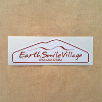 ステッカー[Earth-Smile Villageロゴ]