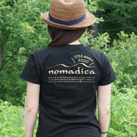 ※8/20以降発送※ nomadicaロゴT BLACK<10周年バージョン>