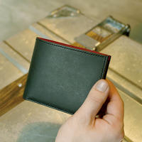 二つ折り財布 (小銭入れ付き)