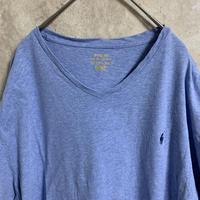 【POLO RALPH LAUREN】ワンポイント刺繍Tシャツ【XXL】【メンズ古着】【used】【vintage】