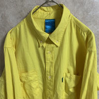 【swagger】カラーシャツ【L】【MADE IN JAPAN】【オックスフォード】【メンズ古着】【used】【vintage】