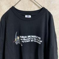 プリントTシャツ【2XL】【MADE IN USA】【メンズ古着】【used】【vintage】