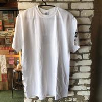 NO MOUZE NO LIFE Tシャツ/ホワイト×ブラック バックプリント