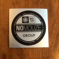 「NOMOUZE GROUP 」ステッカー【SILVER】