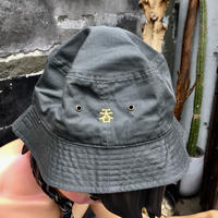 「呑」BAGUETTE  HAT/OLIVE×GOLD
