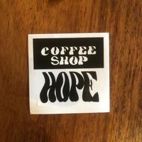 「COFFEE SHOP HOPE」ステッカー