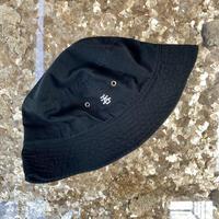 「呑」BAGUETTE  HAT/BLACK×SILVER  [size:XL]