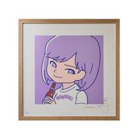 """SAIRI ITO × NONBEE!"" ART PRINT(purple)"
