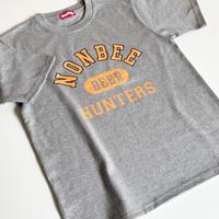 "BEER HUNTERS TEE  ""limited color "" grey/orange"