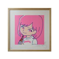"""SAIRI ITO × NONBEE!"" ART PRINT(pink)"