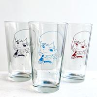 """""""SAIRI ITO × NONBEE!"""" ART GLASS  SET(black blue red)"""