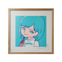 """SAIRI ITO × NONBEE!"" ART PRINT(blue)"