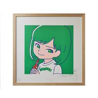 """SAIRI ITO × NONBEE!"" ART PRINT(green)"