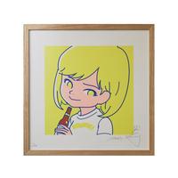 """""""SAIRI ITO × NONBEE!"""" ART PRINT(yellow)"""