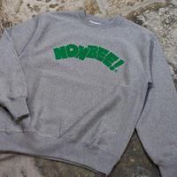 NONBEE LOGO SWEAT   grey/green
