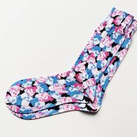 千代の富士×ウルフマン  art  socks(総柄)
