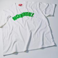 NONBEE LOGO T-SHIRT white/green