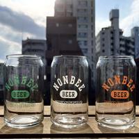 BEER HUNTERS GLASS  SET(green/white/orange)