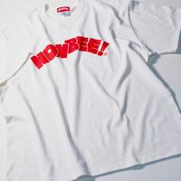 NONBEE LOGO T-SHIRT  white/red
