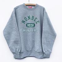 NONBEE BEER HUNTERS SWEAT  grey/green