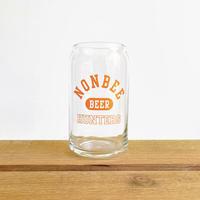 BEER HUNTERS GLASS  orange