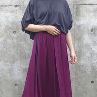 2020~2021aw 秋バージョン配色スカート - LER-2019B -  ~praia~