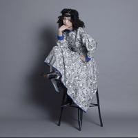 予約商品!!2021 AW   thomas magpie zentangle skirt(2213602)