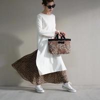 2021ss  town mini intoxic. original textile leopard ~intoxic  ~